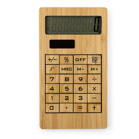 Bamboe Solar Zak Calculator